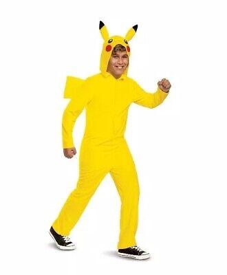 Baby Pikachu Halloween Costumes (Deluxe Pokemon Pikachu Child Halloween Costume Large)