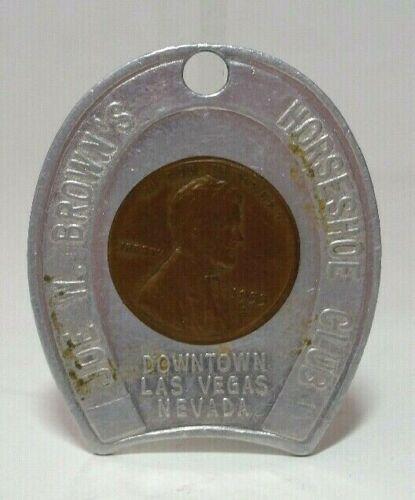 1955D Encased Penny Joe W. Brown