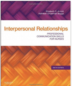 Study Guide for Pathophysiology and Interpersonal Relationship