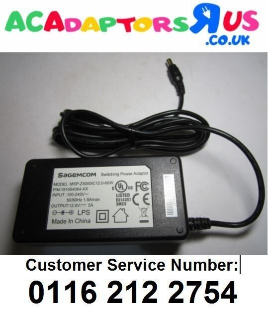 Replacement for 12V 3.8A SAGEM SWITCHING POWER ADAPTER MODEL XKD-Z3800IC12.0-48A