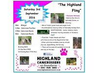 "NEW EVENT - Highland Canicrossers ""Highland Fling"""