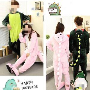 dinosaur pajamas pink