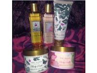 Ted Baker bath and body products - moisturiser, shower gel, body wash, bath foam, body soufflé
