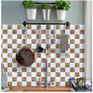 BRAND NEW Peel & Stick Backsplash Tiles (6-pack)