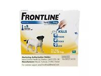 Frontline for small dogs 2kg - 10kg