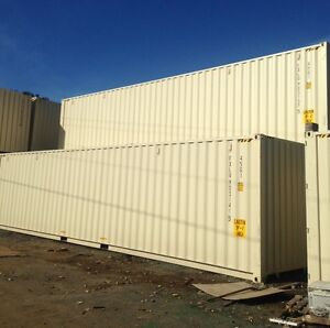 40' HC New shipping containers