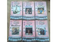 The Best Of Elvis Collection x 6 VHS Videos