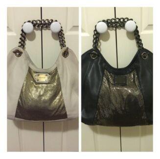 Oroton Heritage Tote Handbags - Cream & Black - RRP $799 Gungahlin Gungahlin Area Preview