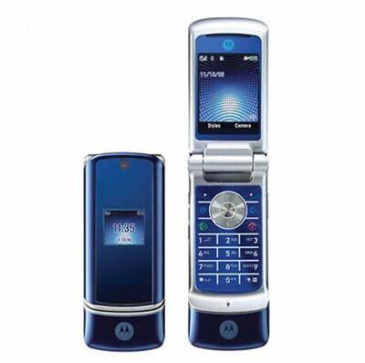 Motorola MOTO  Krzr k1 Blue  Unlocked Motorola flip New Other unmarked pristine