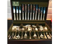 Arther Price Jesmond Vintage Cutlery Canteen - 74 peice, with certificate