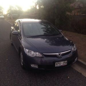 Honda Civic Hybrid 2007 Ridgehaven Tea Tree Gully Area Preview