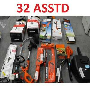 32 ASSTD POWER TOOLS LOT - 119901486 - EDGER TRIMMER BLOWER LAWN CARE GRASS MAINTENANCE SEE COMMENTS