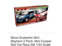Scalextric mini mayhem