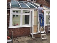 USED PVC WHITE CONSERVATORY