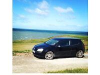 Black Volkswagen golf, diesel, 1.9 tdi, black, 154 000 Miles