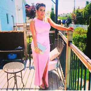 Pink dress LE CHATEAU size 6 West Island Greater Montréal image 1