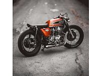 cafe racer motorcycle building