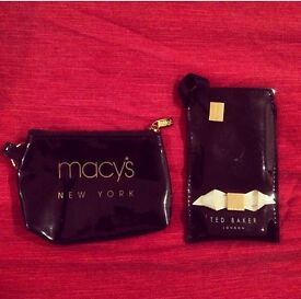 Ted Baker iPhone Sleeve & Macy's key ring coin purse pouch