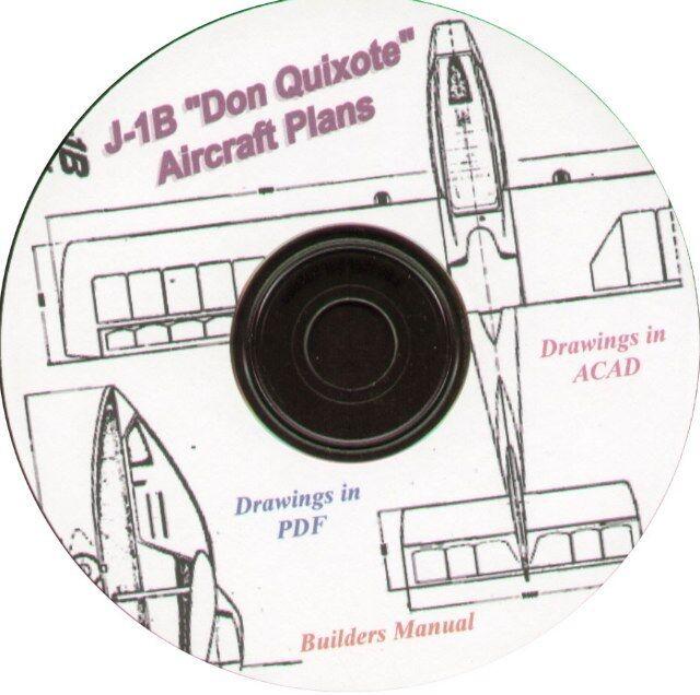 SPORT PILOT CAPABLE J-1B & 1/2 VW Plans, plus many extras