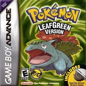 Pokemon LeafGreen (Game boy advance)