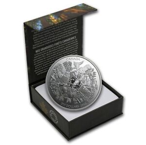 Pure Silver Towering Forests Coin
