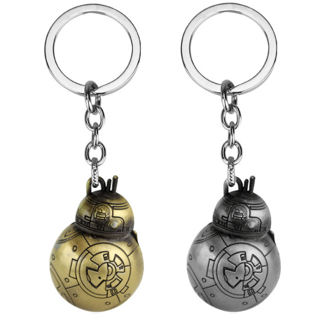 Star Wars BB-8 Droid Metal Pendant Keychain gift for men wom