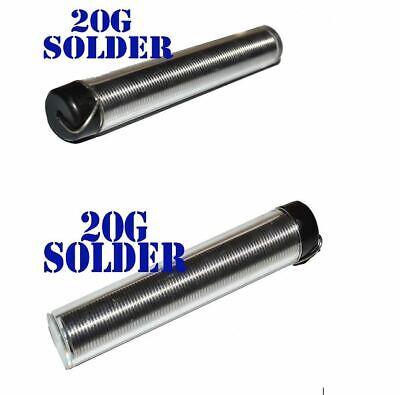 2 Quality Soldering Wire Solder W Dispenser 20g Tube New
