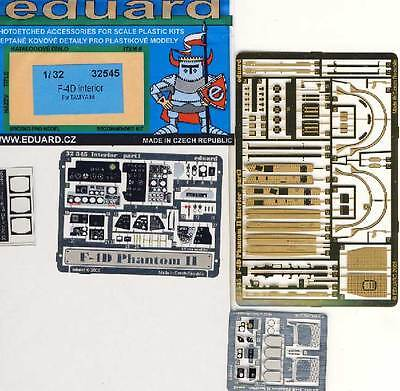 Eduard F-4D Phantom II Interior for Tamiya Etched Parts Edging Kit 1:3 2 for sale  Shipping to United States
