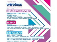 2x 3 day wireless tickets (7th-9th July) £300 each