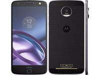 Moto z first modular phone 32gb expandable storage black with incipipio battery case (worth £60 )