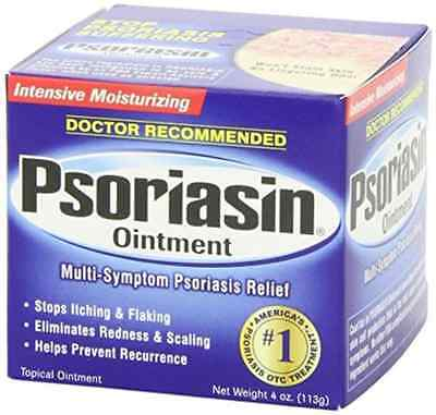 New  Psoriasin Multi Symptom Psoriasis Relief Ointment 4 Ounce 1