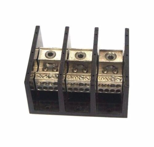 NEW SQUARE D LBA-364108 POWER DISTRIBUTION BLOCK 600V, 335AMP, LBA364108