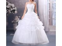 For sale lovely wedding dress size 12 - 14