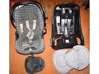 Graco Car Seat & Baby Carrier Good condition full set