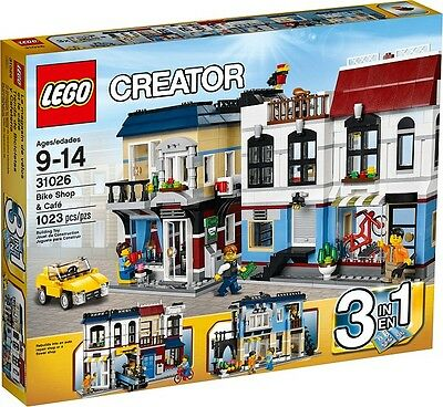 Lego 31026 Creator Bike Shop   Caf    Brand New In Sealed Box  Retired  Rare