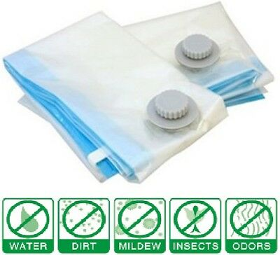 9 Pack: X5 SUPER Jumbo XL LARGEST Vacuum Space Saver Storage Bag + X4 Travel Bag