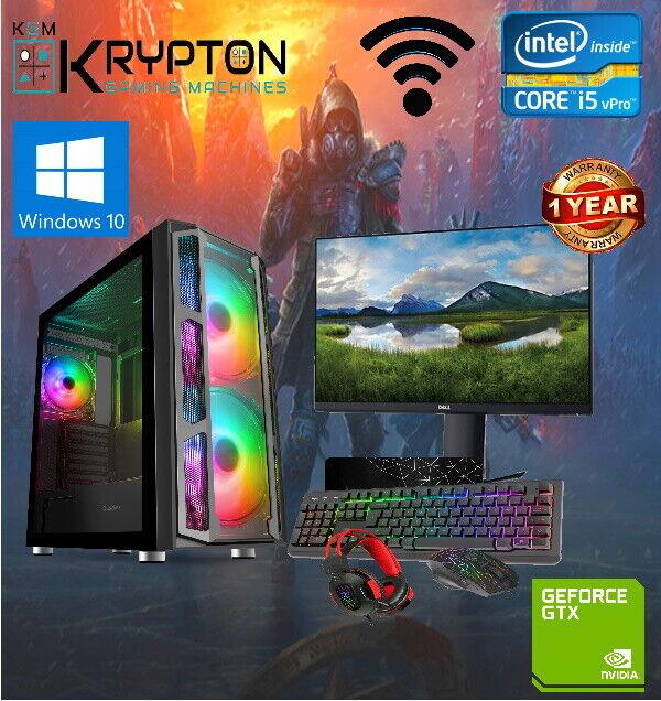 Computer Games - Minecraft Gaming PC Computer Bundle Intel Core i5 16GB 1TB 2GB GT710