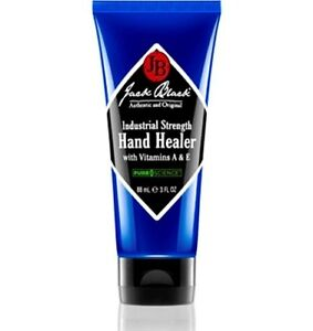 Jack Black Industrial Strength Hand Healer with Vitamins A E 88ml/3oz Brand New