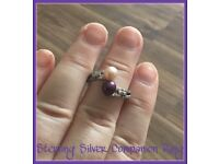 STERLING SILVER COMPANION RING
