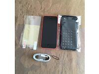 IPHONE 5C UNLOCKED ALL NETWORKS BOXED EXCELLENT CONDITION
