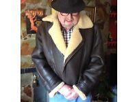 Original Shearling Sheepskin Flight Jacket