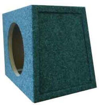 """Subwoofer Speaker Box Enclosure 12"""" MDF Single Sealed Reverse Hatchback 1.39 FT"""