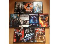 Job lot 10 DVDs horror/thriller/action (bundle #12)