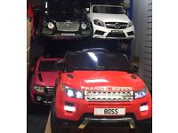 Range Rover HSE Style, Red Or White Available, Parental Remote & Self Drive Ride-On