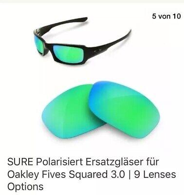 PURE Polarisiert Ersatzgläser Für Oakley Fives Squared 3.0