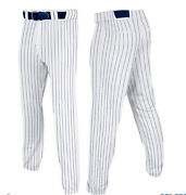 Mens Pinstripe Baseball Pants