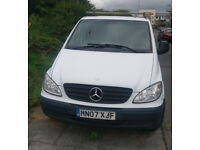 Mercedes Vito Good condition 7 inch double Din Stereo,Alarm fitted reverse camera.189.000 miles