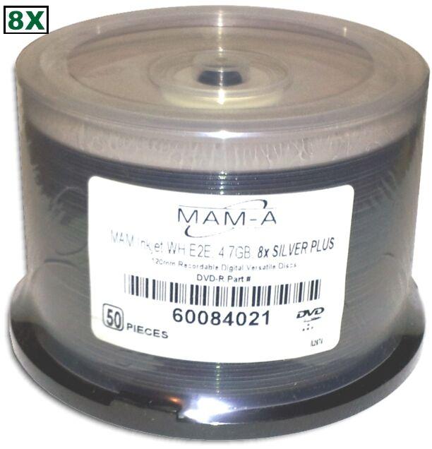 MAM-A mitsui) =silver Plus Gold= White Inkjet Hub 8x Dvd-...