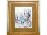 Beatrix Potter - Peter Rabbit Framed Print