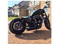 Bobber Harley iron 883